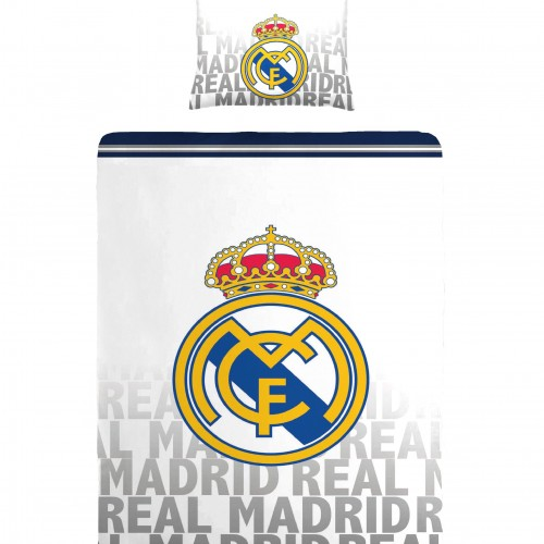 Kinder Dekbedovertrek Real Madrid